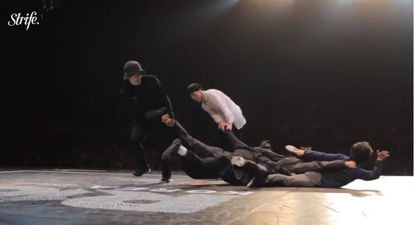 Breakdance-Battle des Tages