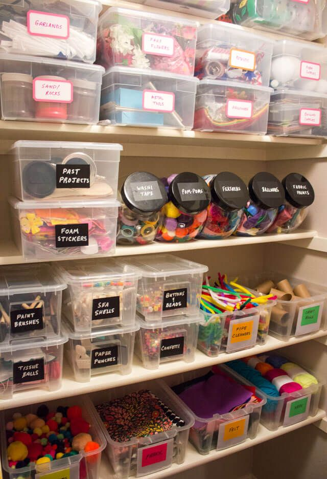 Photo of Erstellen eines Craft Pantry Closet