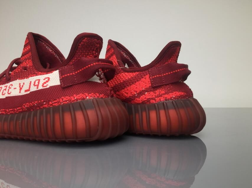 41b8110ea Adidas Yeezy Boost 350V2 Real Boost Wine Red DA9568 07