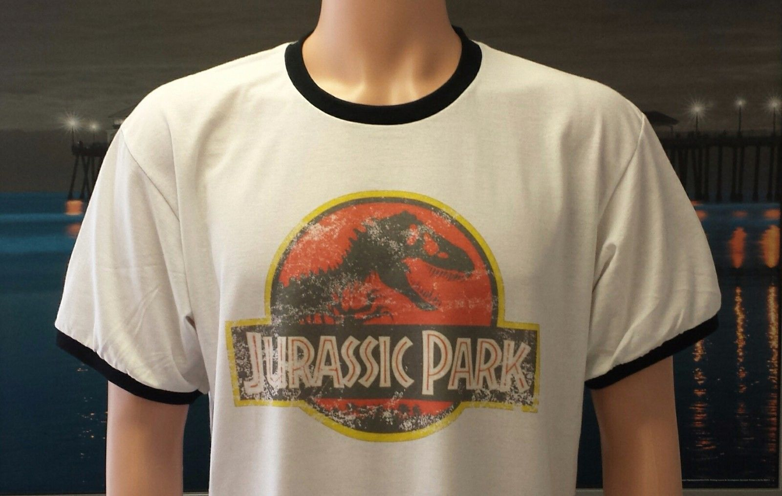 Vintage Jurassic Park Parody T Shirt As Seen In Jurassic World Jake