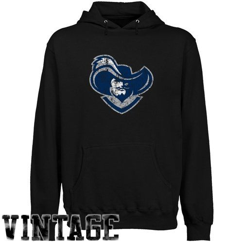 NCAA Xavier Musketeers Black Distressed Logo Vintage Lightweight Pullover Hoodie - http://www.cincyshop.net/cincinnati-sports/xavier-university/ncaa-xavier-musketeers-black-distressed-logo-vintage-lightweight-pullover-hoodie/