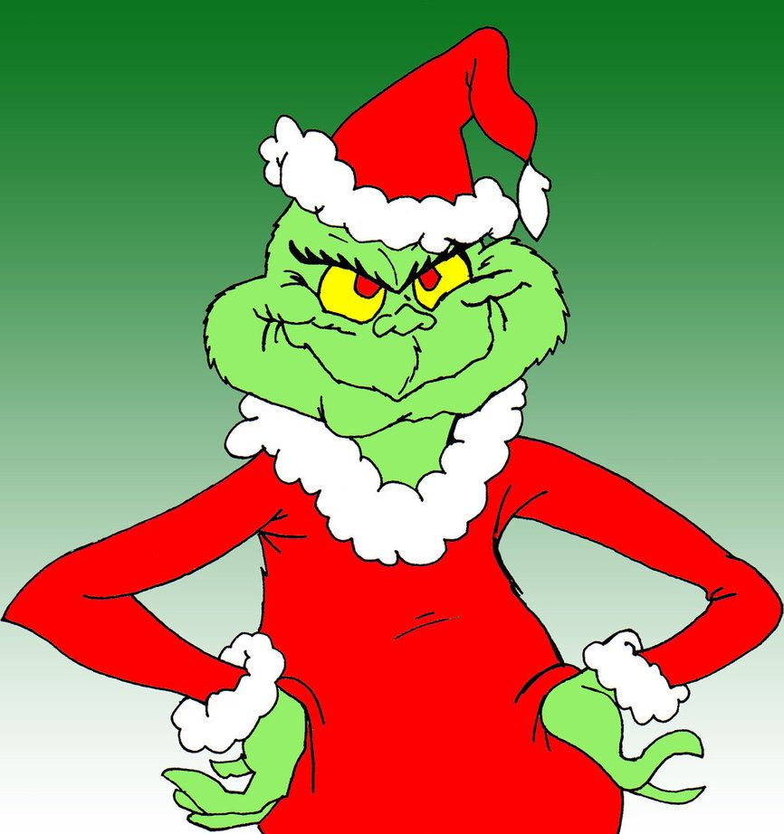 This is an image of Shocking Images of the Grinch