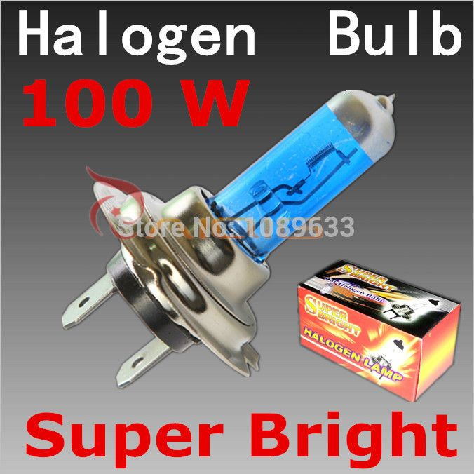 H7 100w 12v Super Bright White Fog Lights Halogen Bulb High Power Car Headlights Lamp Car Light Source Parking 6000k In Li Car Headlights Car Lights Power Cars