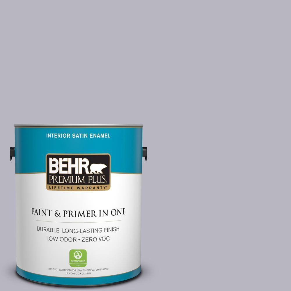 BEHR Premium Plus 1-gal. #N550-3 Best in Show Satin Enamel Interior Paint