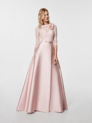 Glorymar Kleid mit ausgestelltem Rock in Zweiteiler-Optik ...