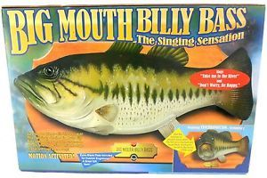 Original 1999 Big Mouth Billy Bass Singing Fish Motion Activated Wall Plaque
