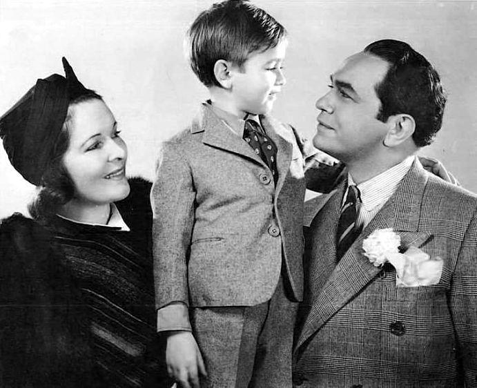 buying cheap united states many fashionable Gladys Lloyd and Edward G. Robinson with Junior | Diamond ...