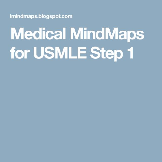 Medical MindMaps for USMLE Step 1 | USMLE Step 1 | Medical