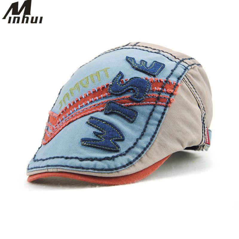 3728b551e66 Click to Buy    Minhui New Cotton Kids Beret Cap Gorras Flat Hats ...