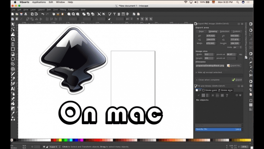 Inkscape is a 100 free, open source vector graphics