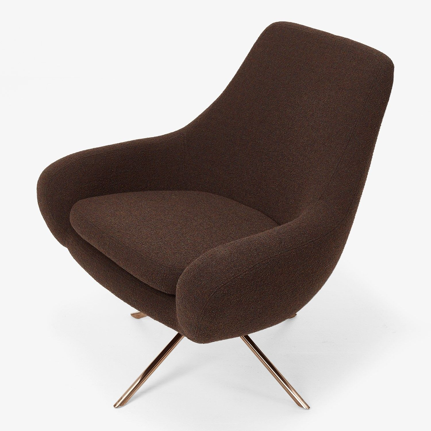 Fine Softline Noomi Lounge Swivel Chair Brown Abc Carpet Home Pdpeps Interior Chair Design Pdpepsorg