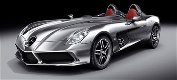 Mercedes Benz Slr Stirling Moss First Look And Photos Of The Slr