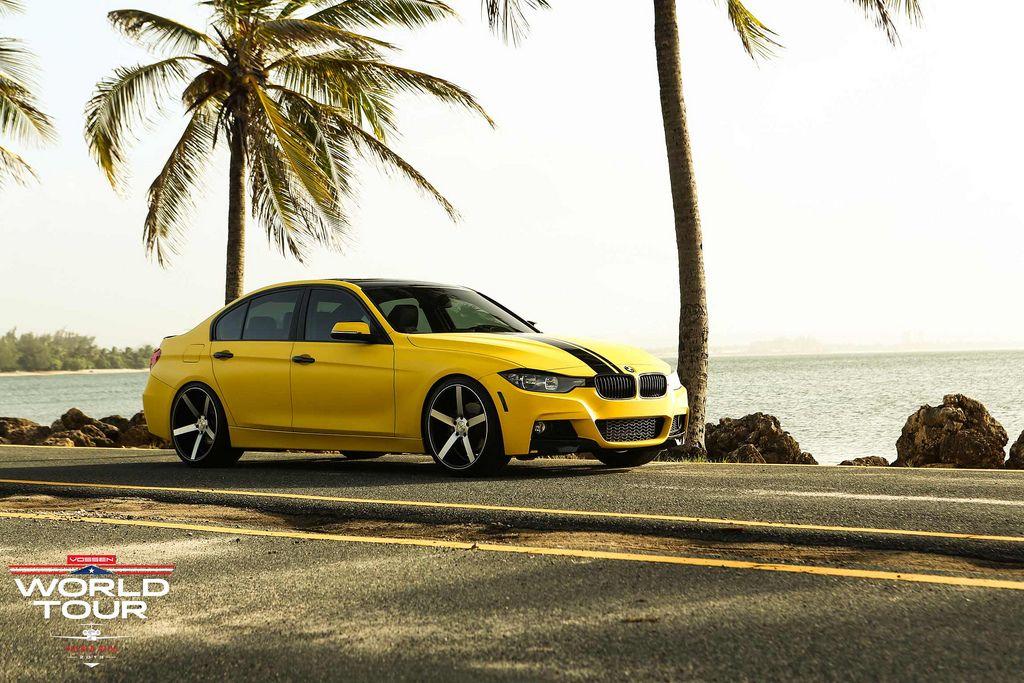 BMW 335i M Sport on Vossen CV3 Wheels. BMW Bmw