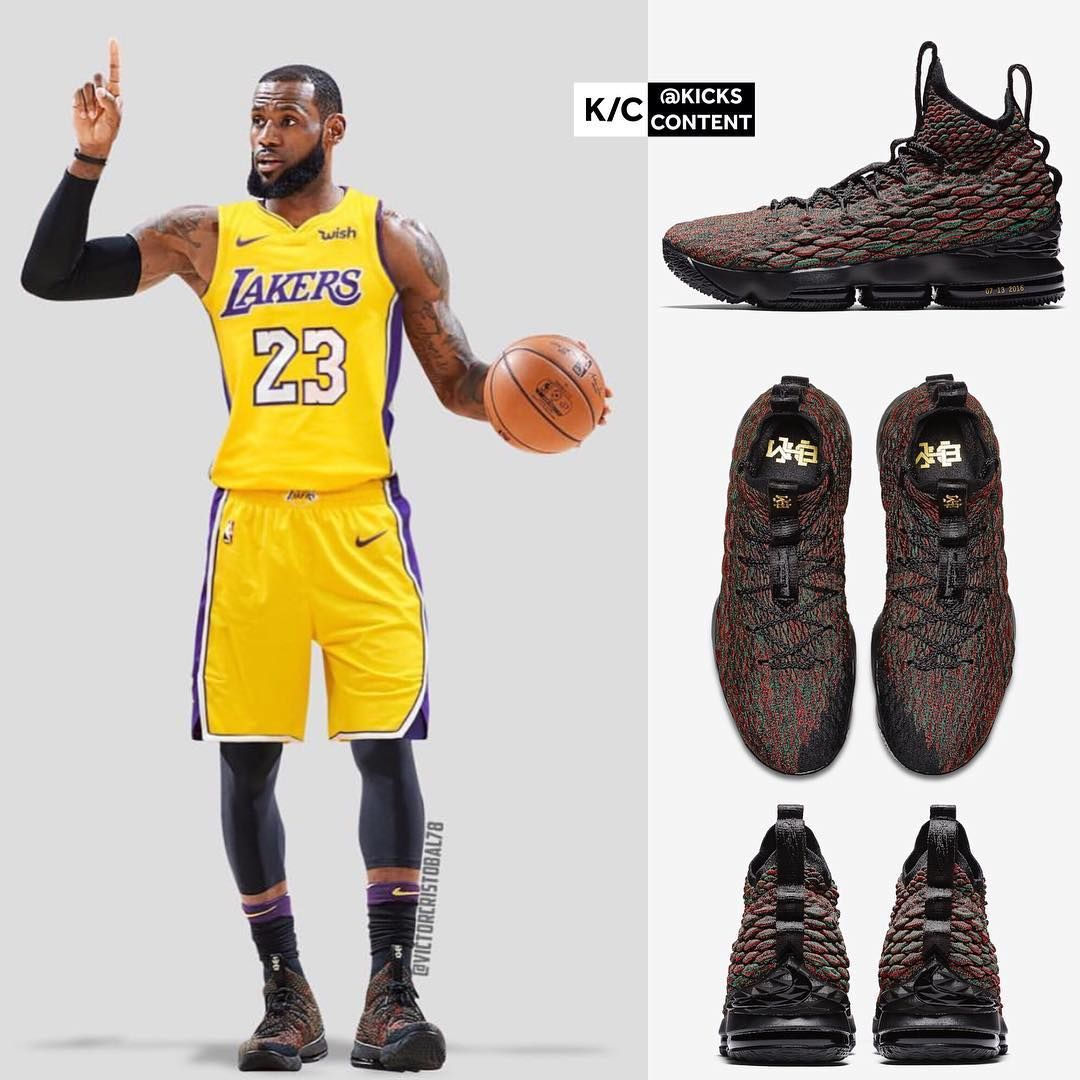 newest 3ee98 0d1f3 Would you like to see LeBron play for the Lakers? LeBron 15 ...