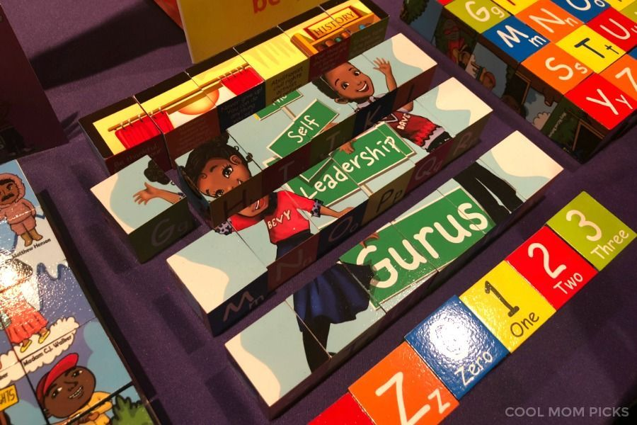 Bevt & Dave History Makers Puzzle Blocks for Kids: A standout from