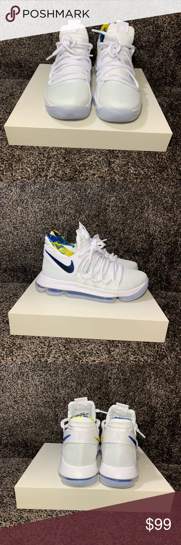 san francisco 24dbc 6ad7e NIKE ZOOM KD-10 size 5Y PRODUCT INFORMATION Nike KD 10 Limited Edition NBA  Golden
