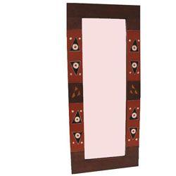 Handmade Adinkra Full Length Mirror Ghana A Room