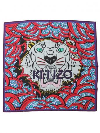 694d6c600086 Kenzo-kenzo silk tiger scarf-foulard seta tigre kenzo-Kenzo Spring Summer  2014