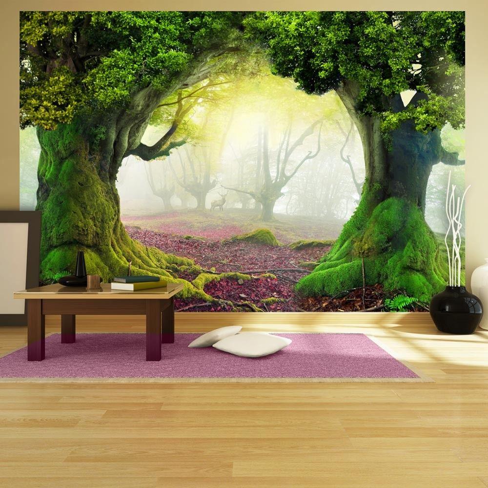 Wallpaper Enchanted forest 3D Wallpaper Murals UK in