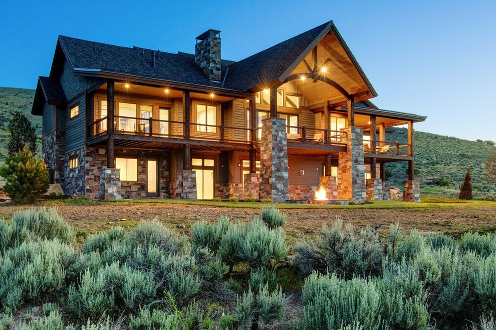 Modern Luxury Homes Exterior Rustic With Log Cabin Salt House Designs Exterior Rustic Houses Exterior Rustic House