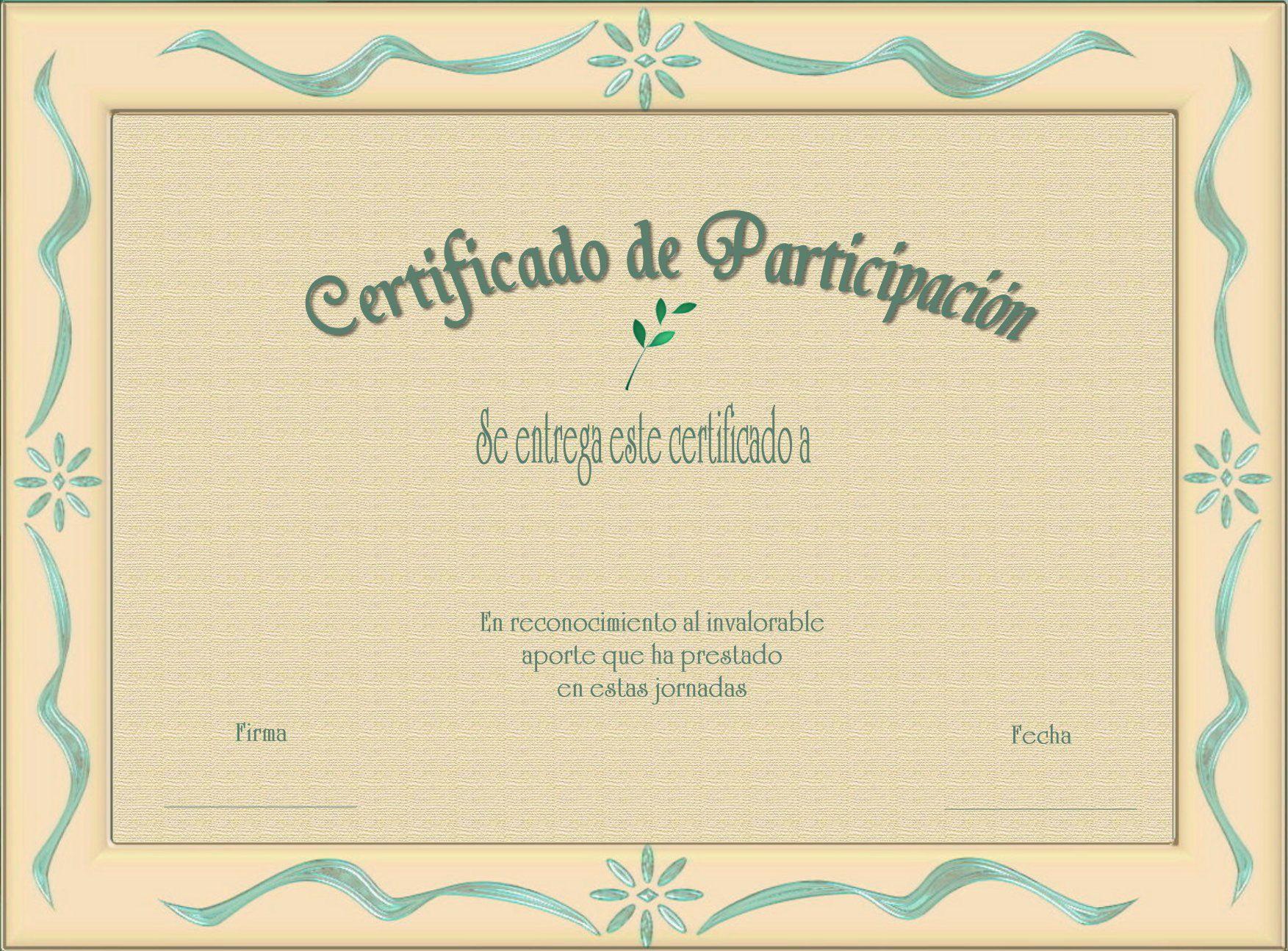certificados de reconocimiento cristianos | Imagen | Marcos ...