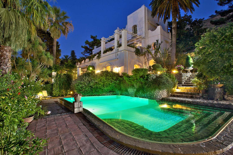 Villa Le Scale, Anacapri (Isle of Capri) ITALY. Isle of