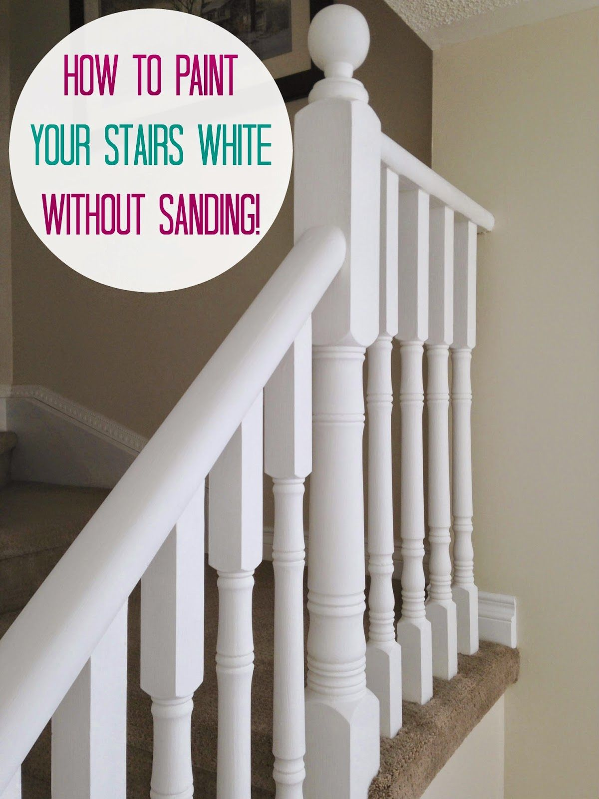 Best Read On How To Paint Oak Stairs Without Sanding Them 400 x 300