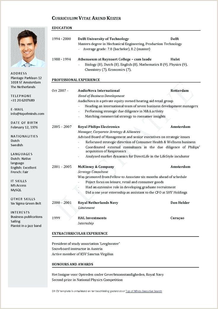 Curriculum Vitae Format Doc from i.pinimg.com