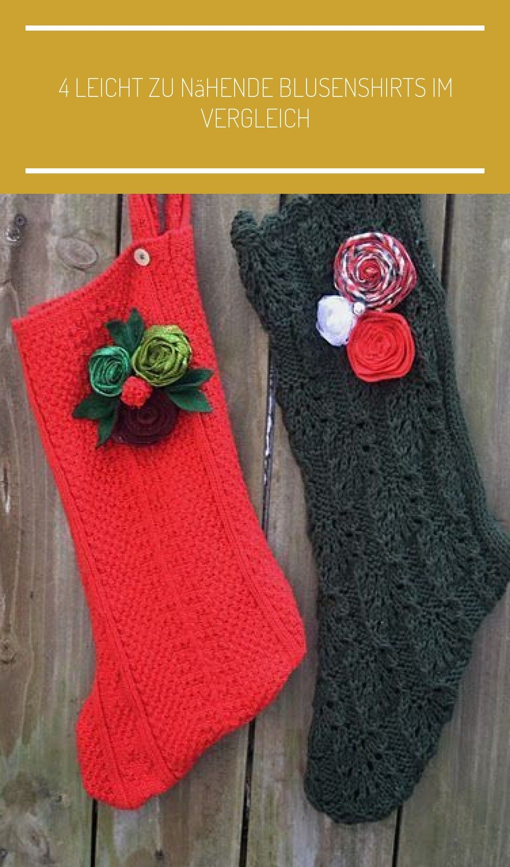 Upcycle Sweater Stockings  Im pullover ideas Upcycle Sweater Stockings  Im pullover ideas