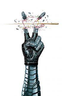 Bucky Barnes: Winter Soldier (2014) #6 cover by Mike Del Mundo