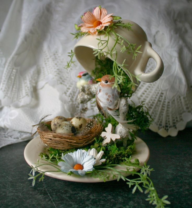 projects idea unique tea cups. just couldn t resist making this project  I have seen so many beautiful ones thought would give it a shot and there will be mor Mystique3D zwevend kopje floating coffeecup