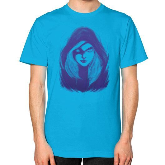 The Drow Ranger Unisex T-Shirt (on man)