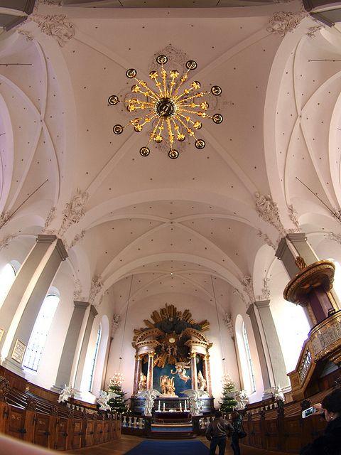 Church Of Our Saviour Interior Denmark House Church Denmark