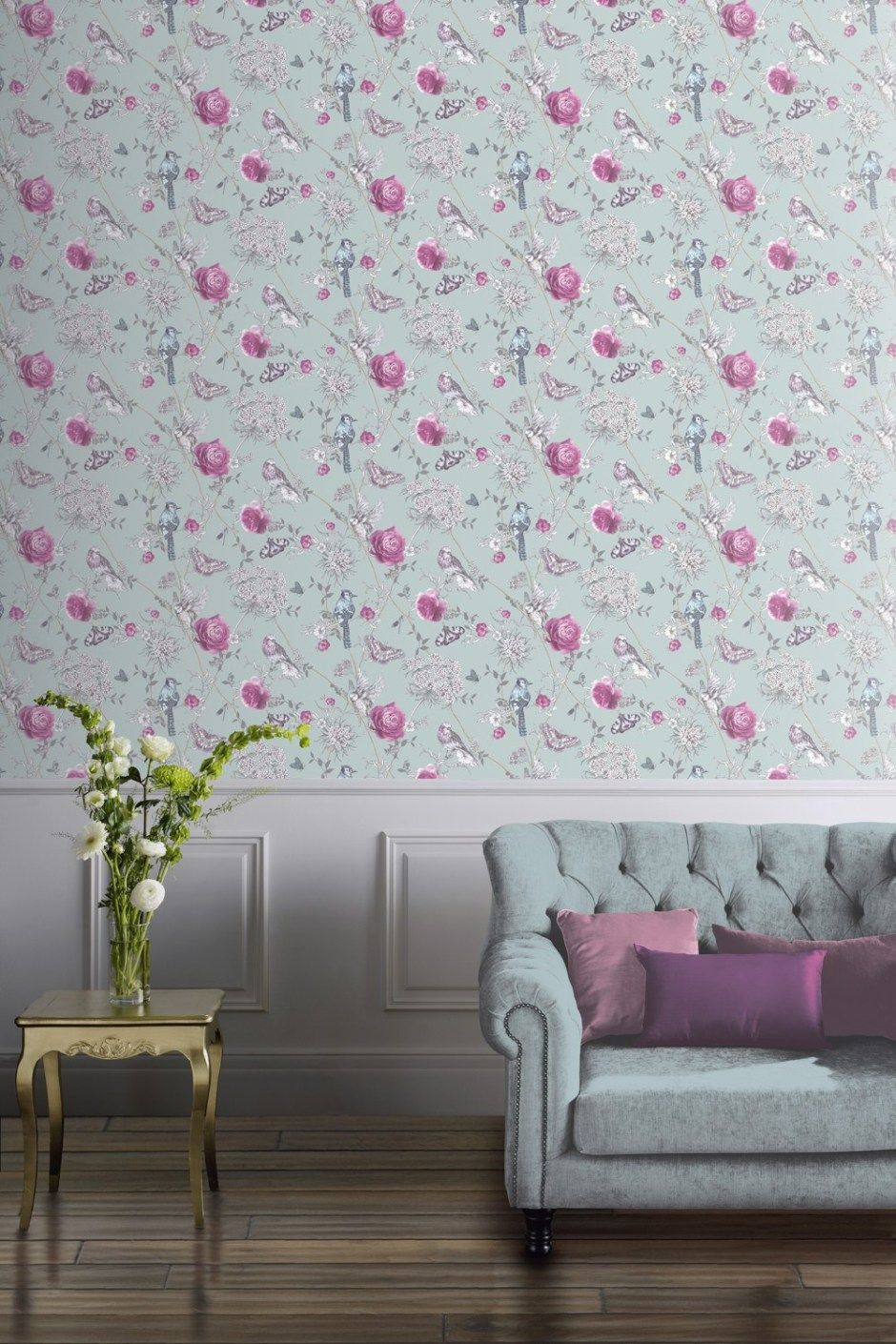Wall Paper 2020 Ideas Neo Mint   The Colour of 2020 | Bedroom Ideas | Home art, Mint