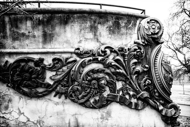 Bronze Scrollwork From A Ship S Bow Centennial Park Nashville Black And White Photo Black And White Photographs Nashville Art Centennial Park