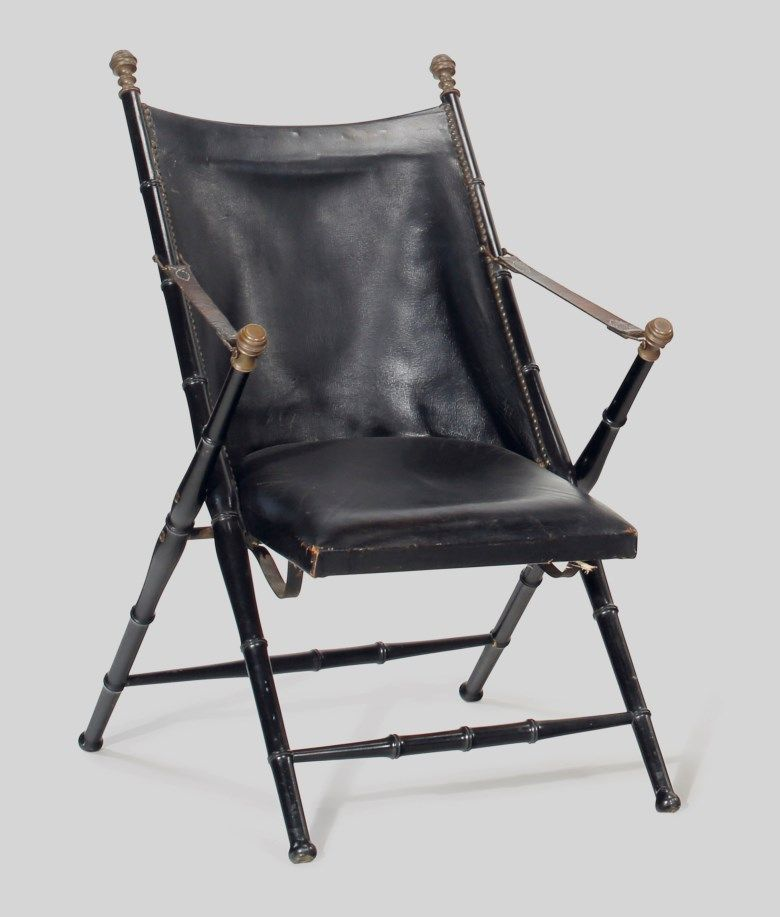 Take A Seat Designer Chairs For, Folding Leather Campaign Chair