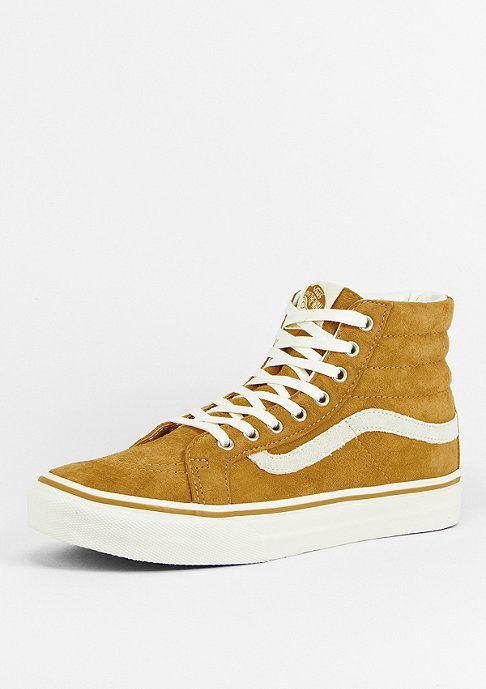 VANS Schuh Sk8-Hi Slim Scotchgard gold/marshmallow - Schuhe Sneaker - SNIPES Onlineshop