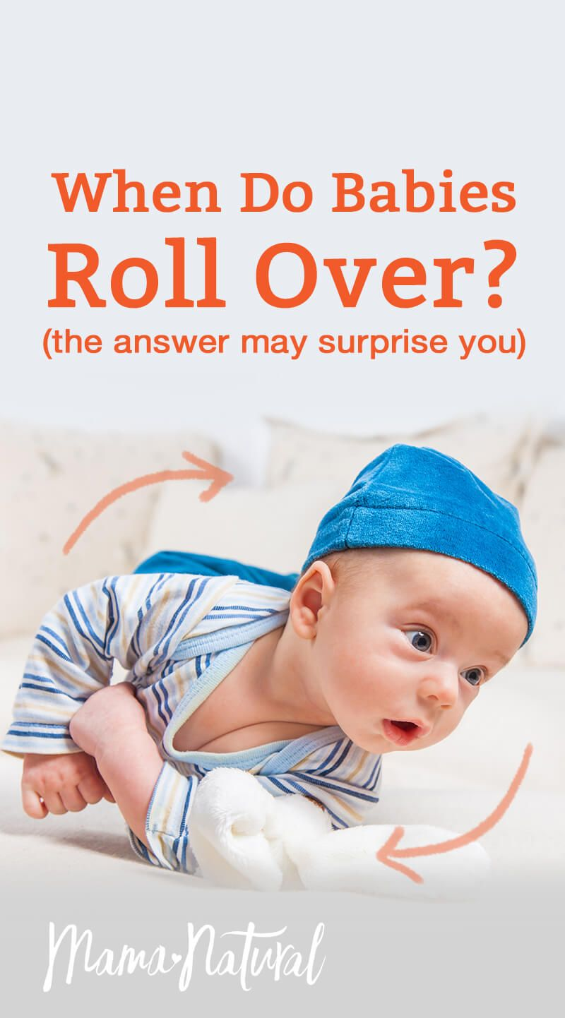 When Do Babies Roll Over? (The Answer May Surprise You ...