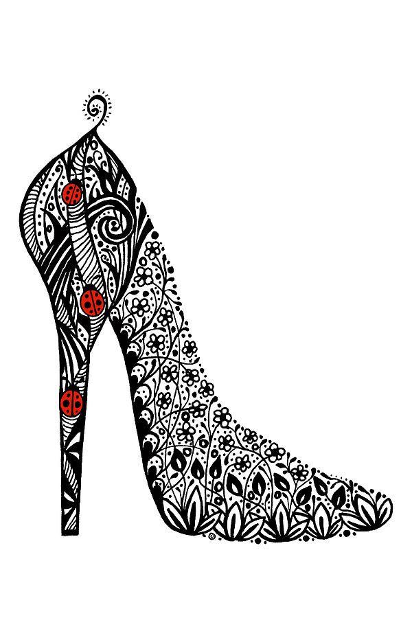 Pin En Sculpture Shoes