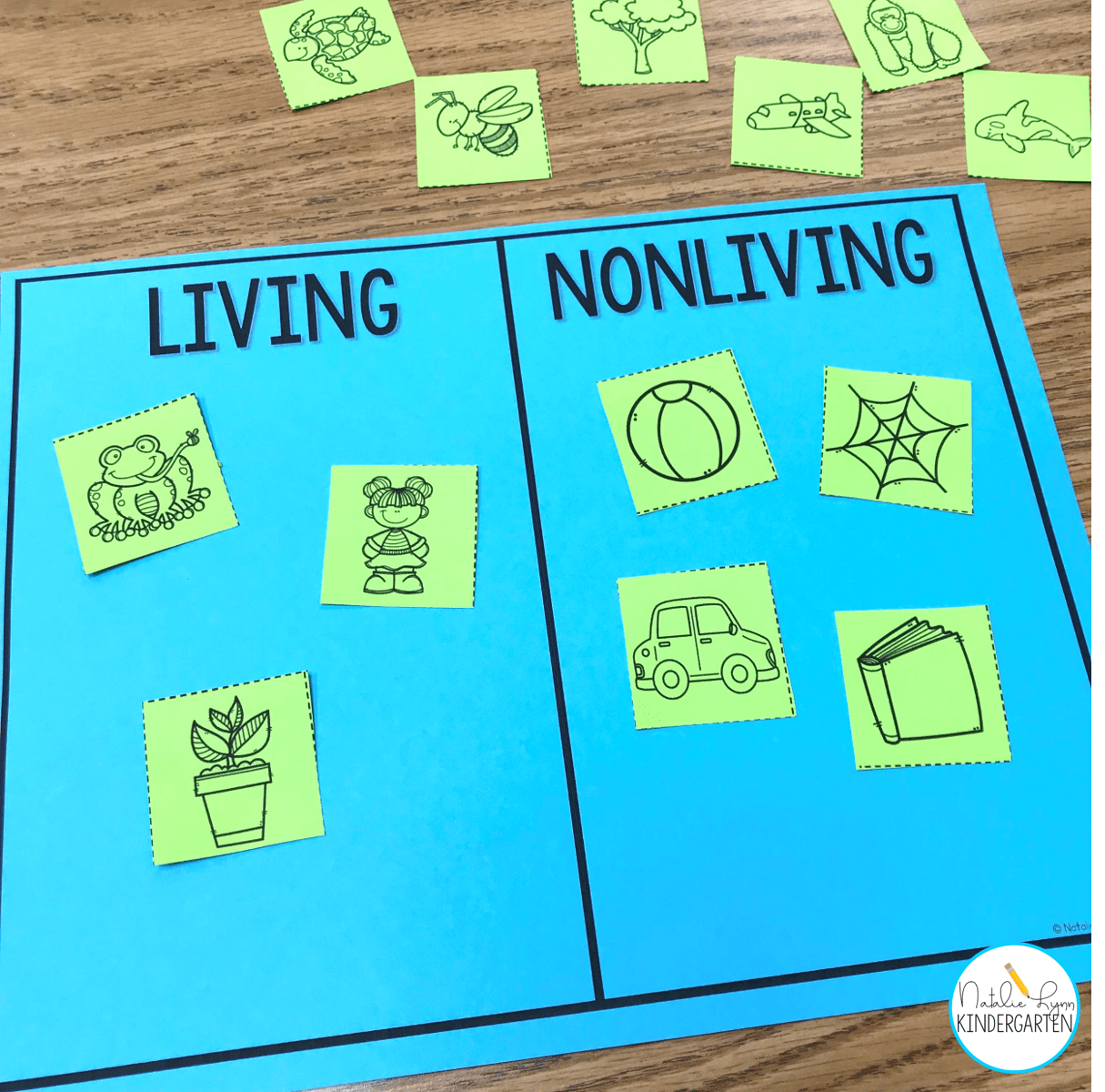 Living And Nonliving Things Activities For Kindergarten Or