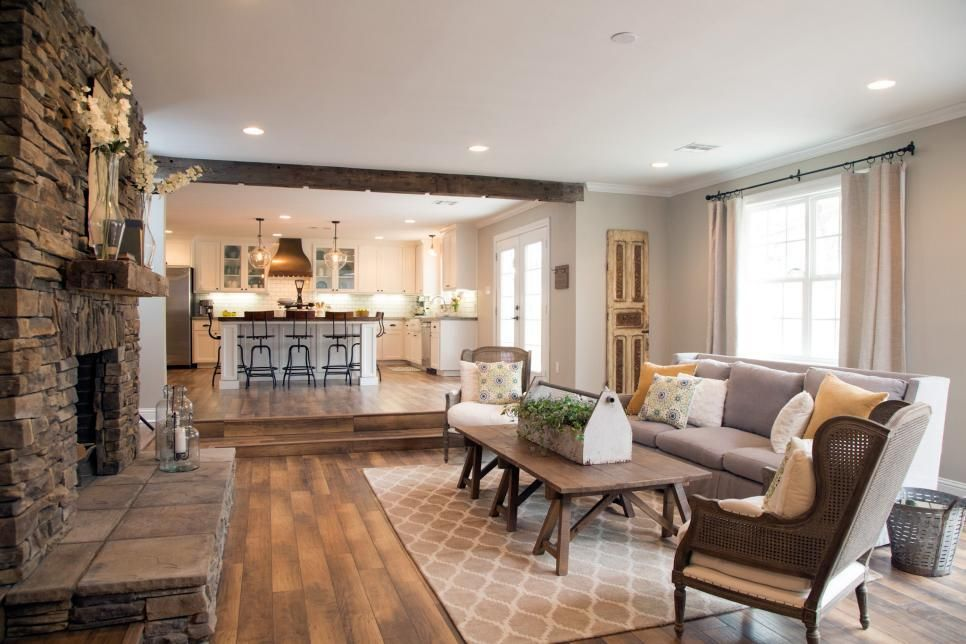 Fixer Upper Farmhouse Style Fab Vs Fad Living RoomFixer