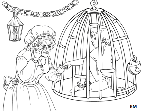 Ausmalen Coloring Coloringpagesforkids Kinder Kids Und Gretel Coole Malvorlagen Ausmalbilder
