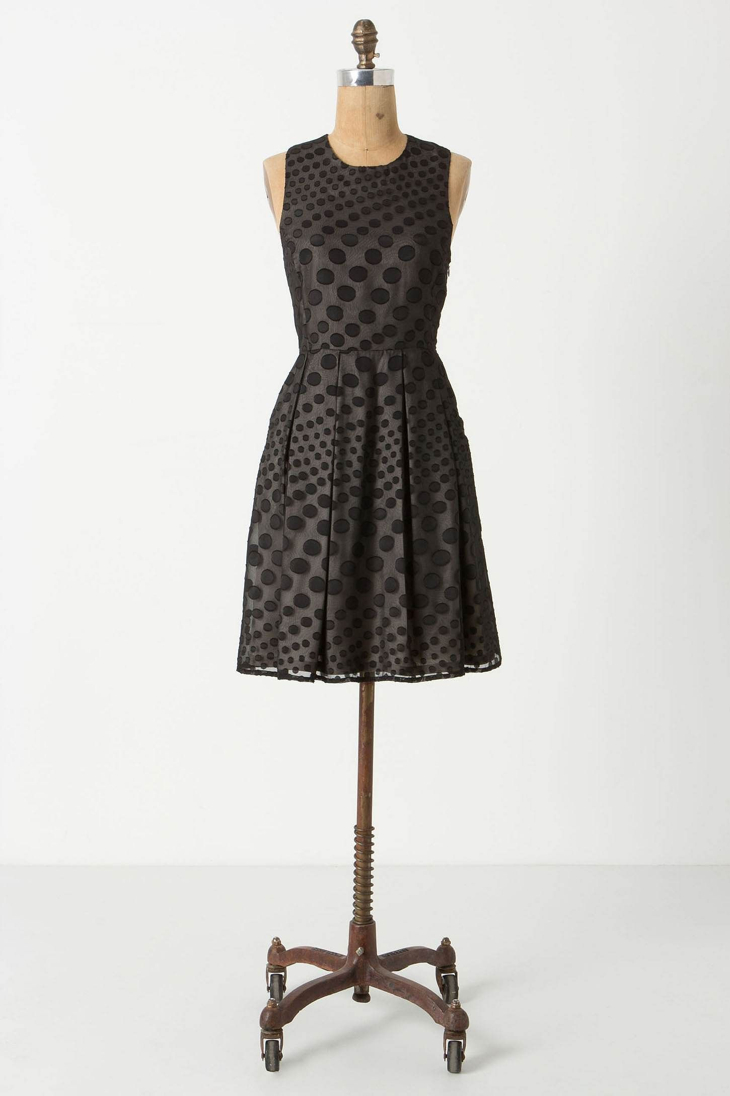 Hunter Dixon Falling Dots Dress