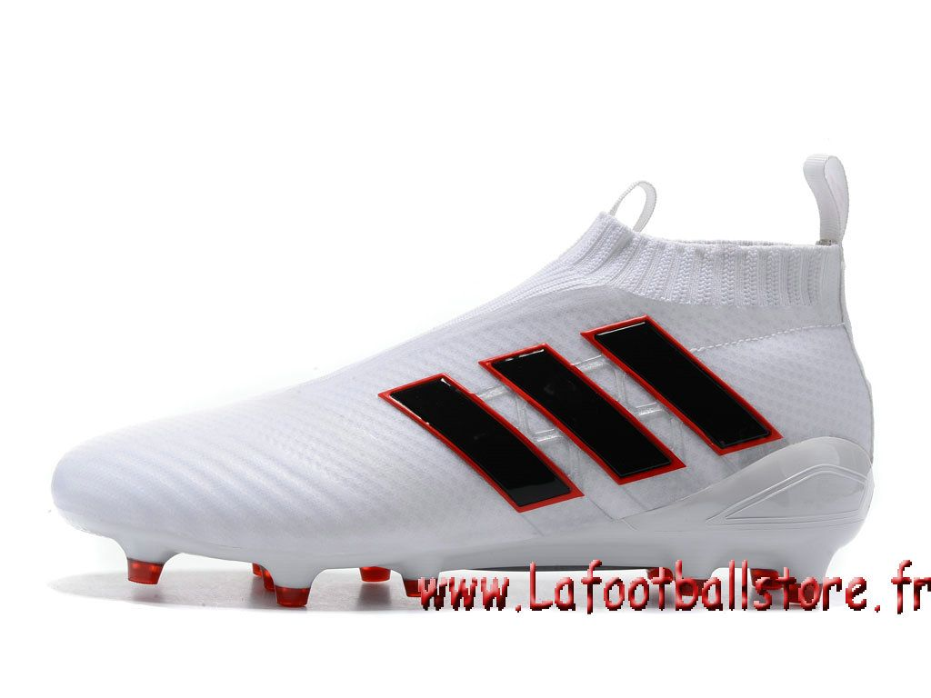 newest collection 12c33 7e664 Adidas homme Football Chaussure ACE 17+ PURECONTROL terrain souple Blance  BB4317 - 1704060728 - Chaussures de Foot   officielle Maillots    lafootballstore. ...