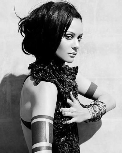 Goblet Tattoo On Forearm By Joe Ellis: Arm Tattoo Actress Persia White, You May Remember Her From