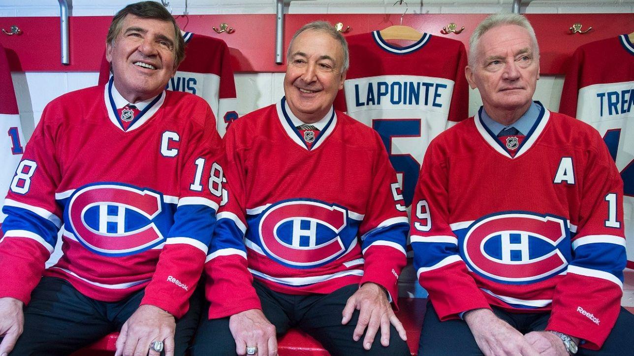 The big three - Serge Savard, Guy Lapointe et Larry Robinson