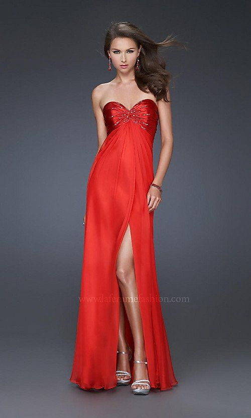 78  images about Red Chiffon Dresses for Slim Women on Pinterest ...