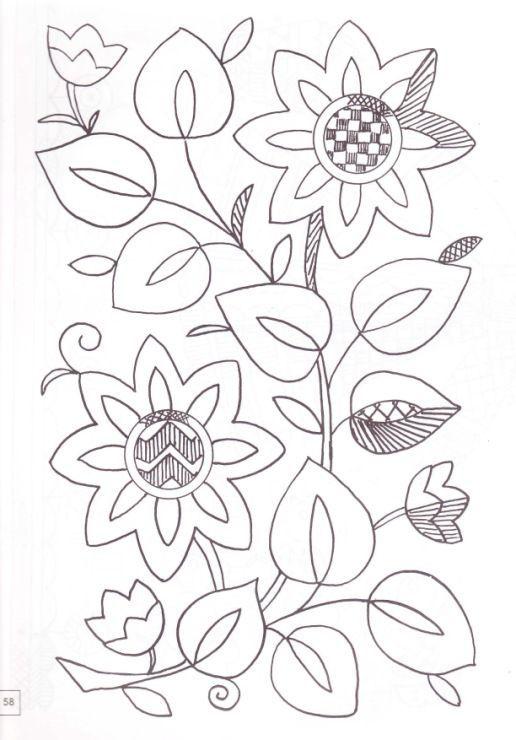 patrones para bordado mexicano para imprimir | ... patrones bordado ...