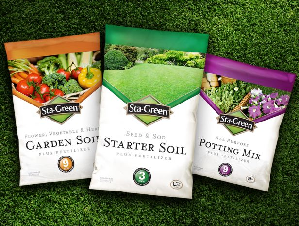 Sta-Green Garden Soil Packaging - McLean Design | Pakuotes