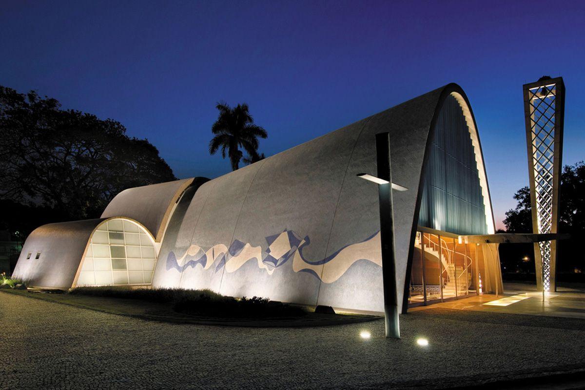 A Igreja Sao Francisco De Assis Da Pampulha Belo Horizonte Mg
